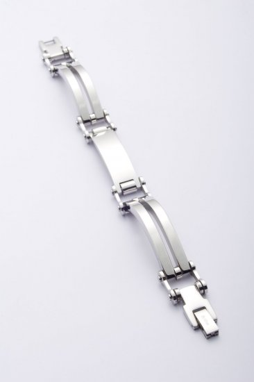 TRENDY STEEL JEWEL BRACELET