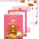 Kawaii San-X Japan Rilakkuma 5th Anniversary Memo Pad Stationery w/ Stickers NEW