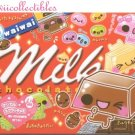 Kawaii Crux Japan Waiwai Milk Chocolate Memo Pad NEW