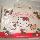 Kawaii Sanrio Hello Kitty Strawberry Mini Tote Bag Keychain Bonus Card Prize 2005 NIP