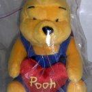 McDonald's Disney Singapore Winnie the Pooh Plush Heart NIP