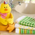 4-Pc. Springtime Spring Easter Gift Towel Set - Chick