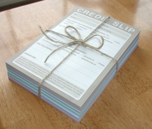 Humorous Notepad Memo Set - Cell Citation, Excuse Note, Credit Slip, While You Were Out, and MORE!