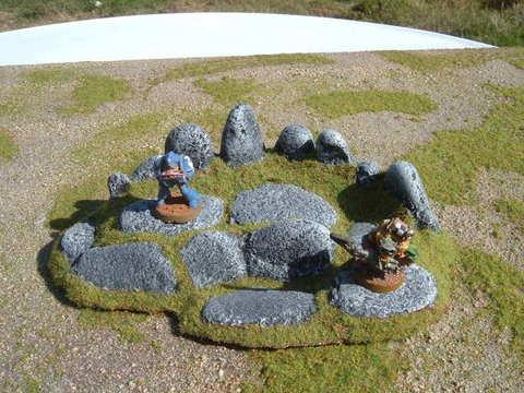 Large Round Rock Ridge