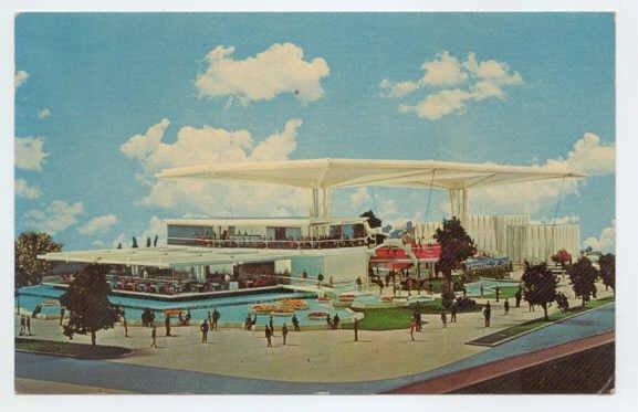 Festival of Gas - New York World's Fair 1964-1965 NY Postcard  #0255