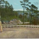 U.S. Highway 62 Eureka Springs, AR  1930 Postcard  dirt road #0229
