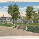 Natural Bridge Hotel, Natural Bridge, VA Vintage Postcard circa 1920s  #0079