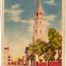 St. Michael's Church, Charleston, SC Postcard   #0108