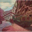 Observation Car, Royal Gorge CO vintage Postcard Train  circa 1910  #0164