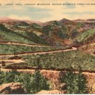 Lariat Trail, Lookout Mountain, Denver Mountain Parks  Denver, CO Postcard Circa 1930s  #0237