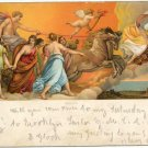 Aurora painting by Guido Reni,  Antique Art Postcard  Rotograph circa 1905 #0138