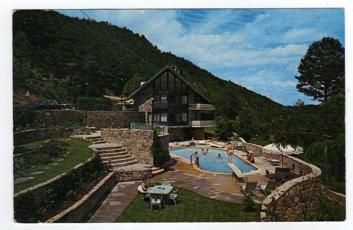 Chalet Motel Gatlinburg, Tennessee  TN Postcard Circa 1960s Triple A Logo  #0298