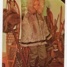 Parka, Mukluks and Snow Shoes Roy Acuff's Hobby Exhibits Postcard Nashville, TN #0305