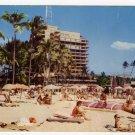 Hawaiian Village Hotel Waikiki HI Postcard  circa 1950s #0293
