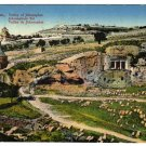 Jerusalem, Valley of Jehosaphat  Postcard  Fr. Vester & Co. circa 1920s    #0310