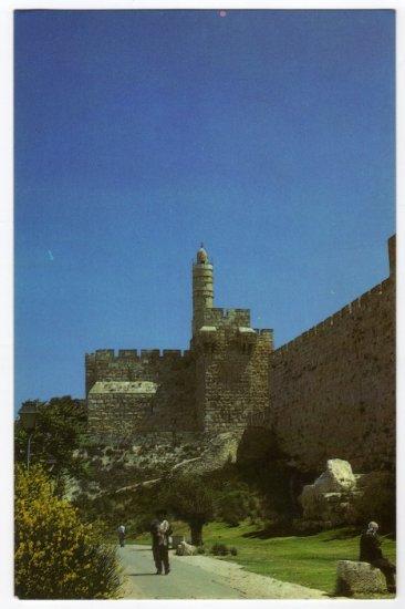 The Citadel dubbed:  David's Tower  Jerusalem, Israel Postcard   #0314