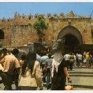 Jerusalem, Old City - View To Damascus Gate Postcard Israel  #0316