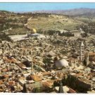 Jerusalem, Bird's Eye View  Postcard Israel  #0320
