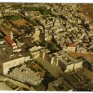 Bethlehem Bird's eye view - Showing forecourt of the Church of the Nativity Israel Postcard #0323