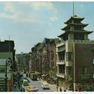 Chinatown   New York, NY  over-sized chrome postcard circa 1950s   #0325