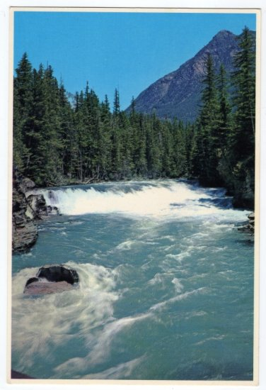 Falls in McDonald Creek, Glacier National Park, Montana  Postcard   #0326