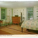 Richardson House Bedroom, Old Sturbridge Village, MA Brookfield, MA Postcard  #0352