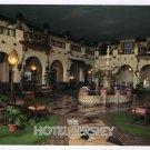 Hotel Hershey  indoor courtyard  Hershey, PA Postcard  1989  #0357