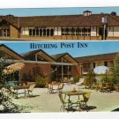 Hitching Post Inn, Cheyenne, WY Postcard Multi-view Postcard AAA and Best Western Motels Logos #0364