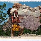 How Kola Black Elk, Mt. Rushmore, South Dakota, Postcard Jack Riordan photo  #0366