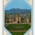 The Biltmore House, Asheville, NC front aerial view Postcard  #0373