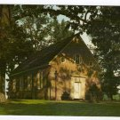 Old Wye Church Wye Mills, MD postcard photo by Walter H. Miller   #0382