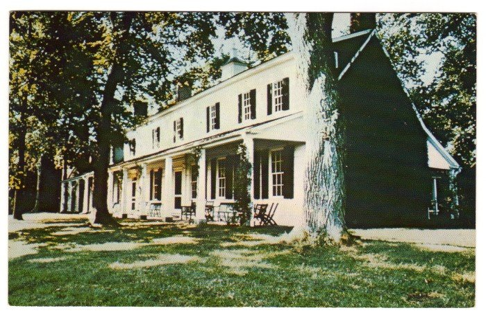 Sotterley Plantation  Hollywood, St. Mary's Co, MD postcard   #0387