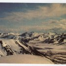 Brooks Range Alaska View from North Slope of Itkillik River Valley Vintage postcard  #0394