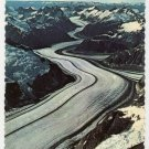 Aerial view of A River of Ice  Alaska postcard  photo Frank H. Whaley  Wien Air Alaska  #0401