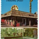 Gold Pan Trading Post  Fairbanks Inn Lobby Postcard Fairbanks, AK  #0404