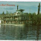 River Boat Discovery, Fairbanks Alaska Postcard   Bruce H. Baker photo  #0408