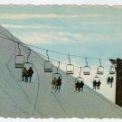 Skiing at Aleyrska, Alaska  Alyeska, AK Postcard ski lift #0409