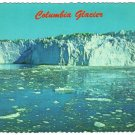 "Columbia Glacier Alaska Postcard ""alaska joe"" ORIGINAL  Ed Cooper photo  1975"