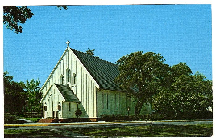 Chapel of the Centurion Postcard   Fort Monroe, Old Point Comfort, VA Walter H. Miller photo  #0467