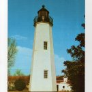 Old Point Comfort Lighthouse Postcard, Fort Monroe, VA  Walter H. Miller photo  #0468