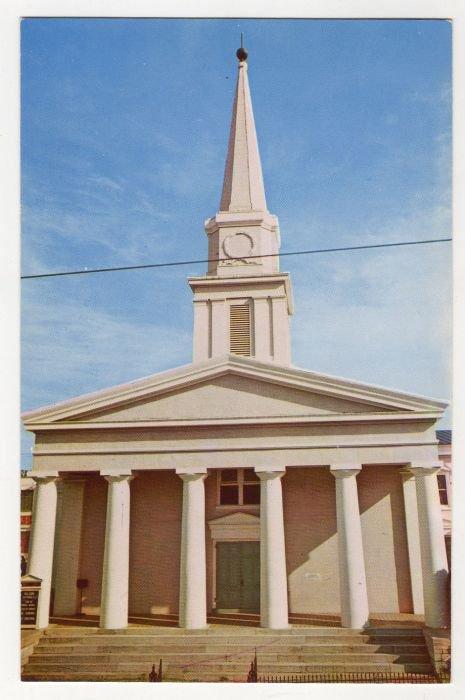 Lexington Presbyterian Church, Lexington, Virginia Postcard Mike Roberts 1960s  VA