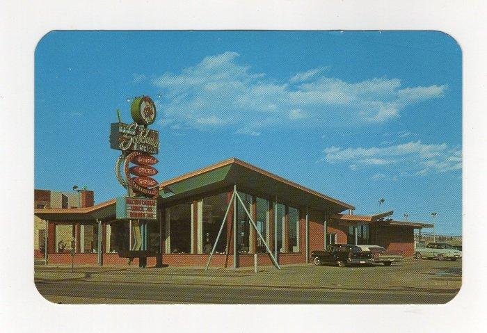 Fabulous Scotchman Smorgasbord Restaurant Colorado Springs, CO Postcard 1950s  #0537
