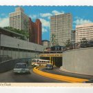 Tunnel To Canada Detroit, Michigan - Windsor, Ontario Postcard 1964 Larry Witt Photo #0538