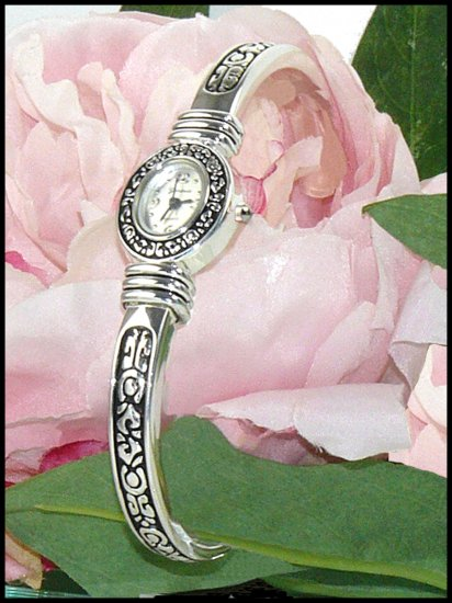 Brighton Inspired Geneva Cuff Watch Bracelet 630