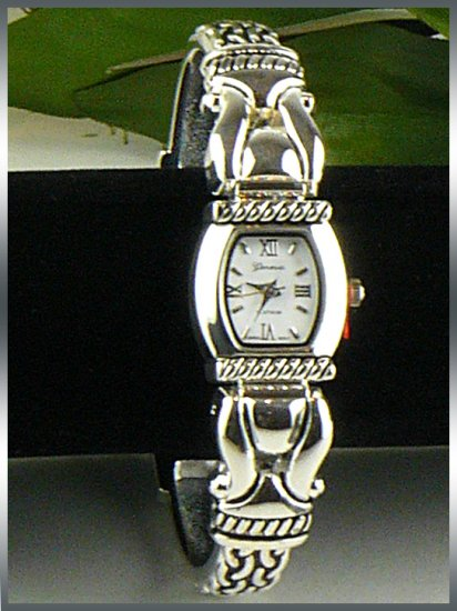 Brighton Inspired Geneva Cuff Watch Bracelet 431