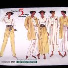 Vogue 2437 Misses Five Easy Pieces Sewing Pattern