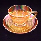 Jeannette Vintage Anniversary Amberescence Cup and Saucer