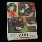 Vintage Avon Christmas Tapestry Pattern Collection by McCall 5380