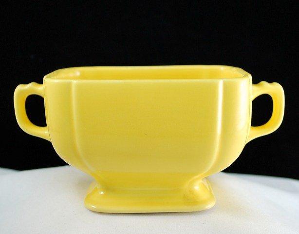 Homer Laughlin Riviera Yellow Sugar in the Century Shape