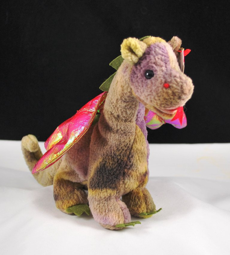 Ty Scorch The Dragon 4210 Retired Beanie Baby